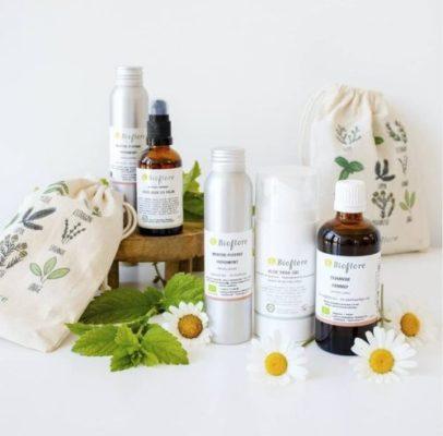 marque bioflore, belgique, cosmétique naturelle