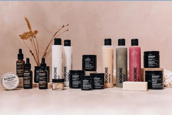 cosmétique naturel bobone, local et belge
